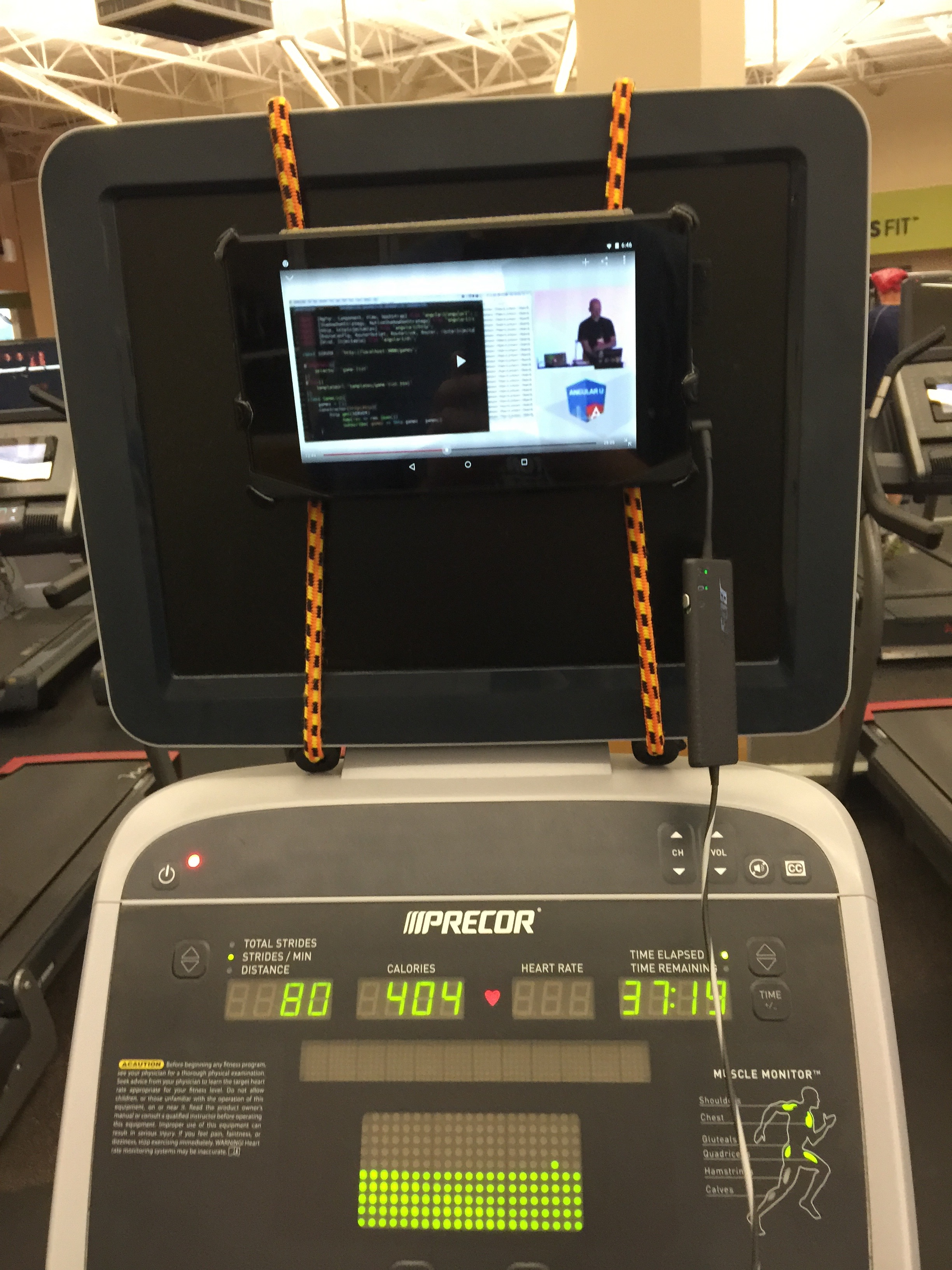 elliptical bungees tablet